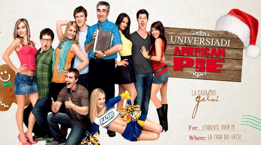 Universiadi di Natale: American Pie (foto facebook)
