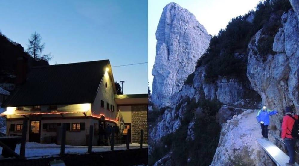 Sengio Alto sul Pian delle Fugazze concena in Malga Cornetto (foto facebook)