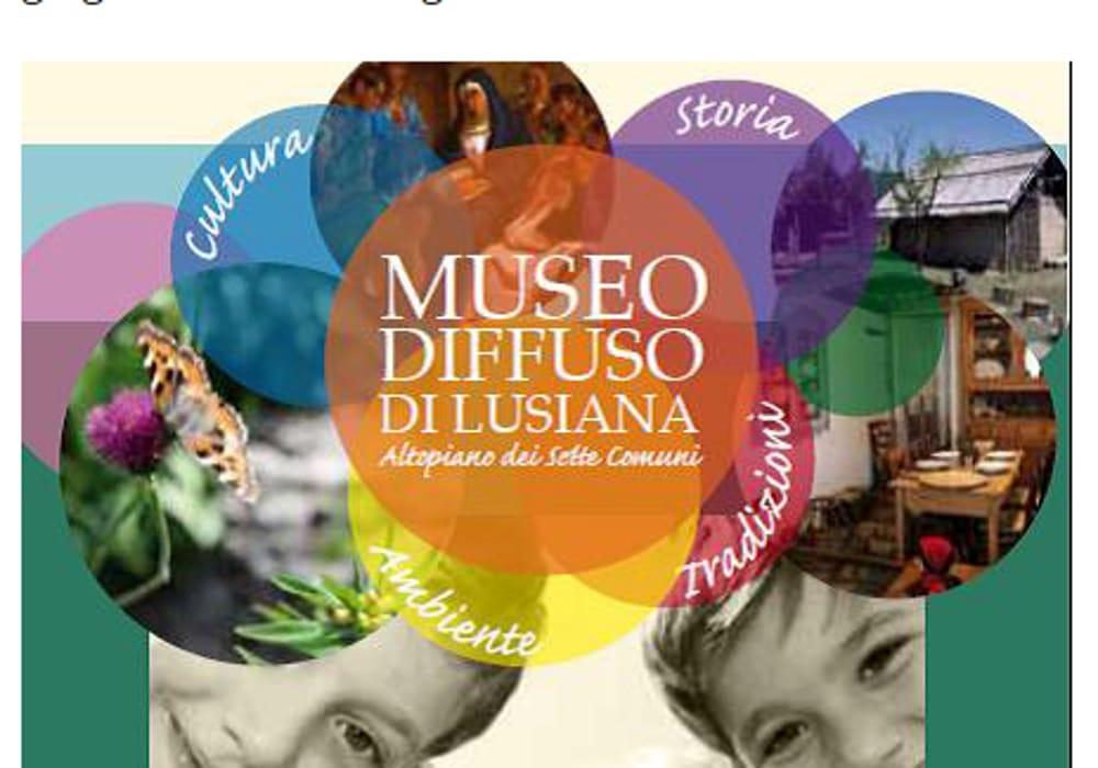 """Locandina """"Museo Diffuso di Lusiana"""" (immagini di archivio)"""