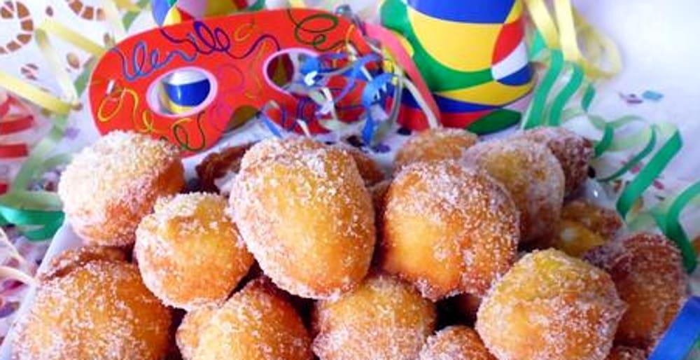 Frittelle di Carnevale (immagini di archivio)
