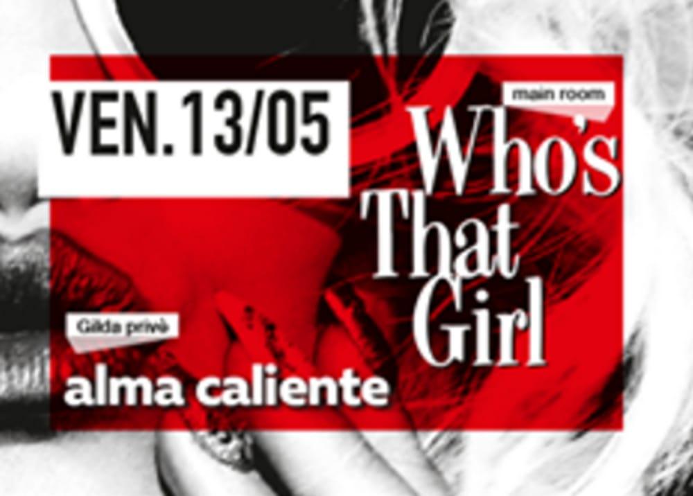 "Locandina ""Who's That Girl"" (foto facebook)"