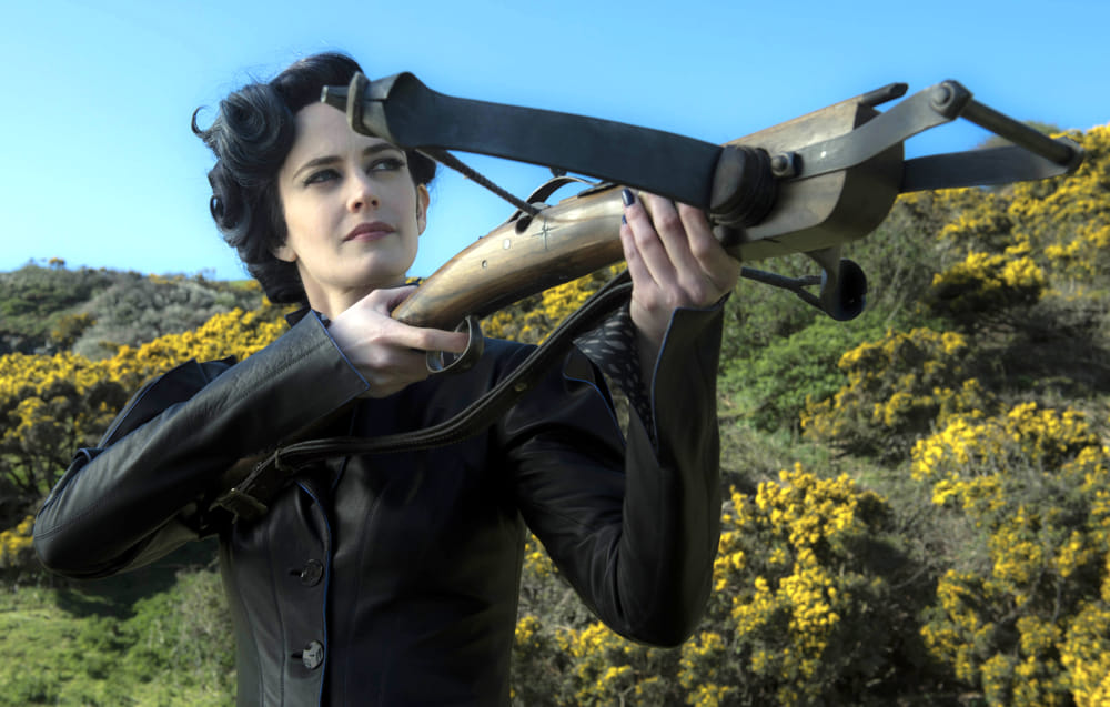 """Eva Green in """"Miss Peregrine: La Casa dei Ragazzi Speciali"""" (immagini di archivio)"""