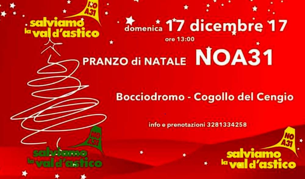 Pranzo Natalizio NOA31 (foto facebook)