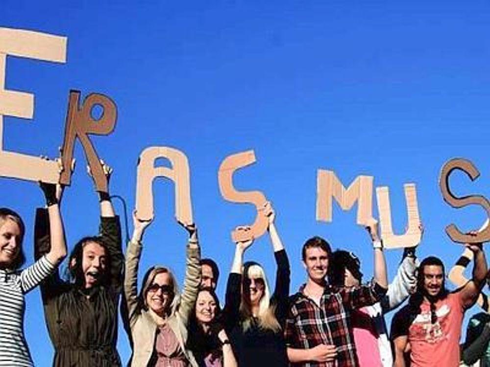 Giovani Erasmus (immagini di archivio)