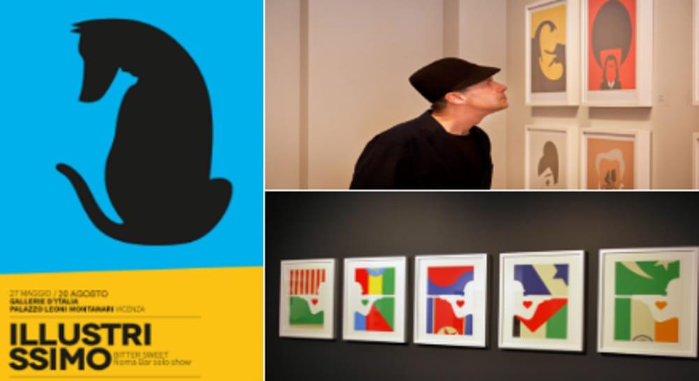 """Collage """"Illustrissimo"""" di Noma Bar (immagini di archivio)"""