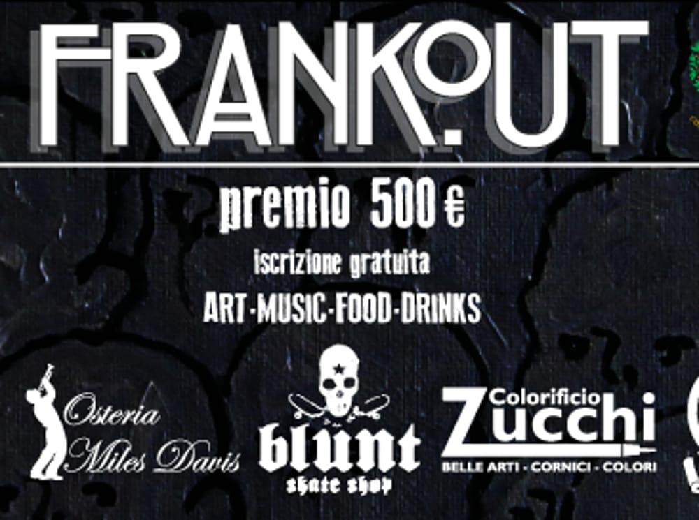 "Locandina Art Contest Space ""Frankout"" (foto facebook)"