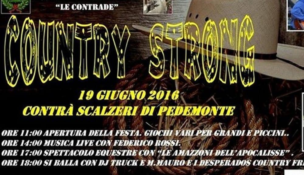 """Locandina """"Country Strong"""" (foto facebook)"""