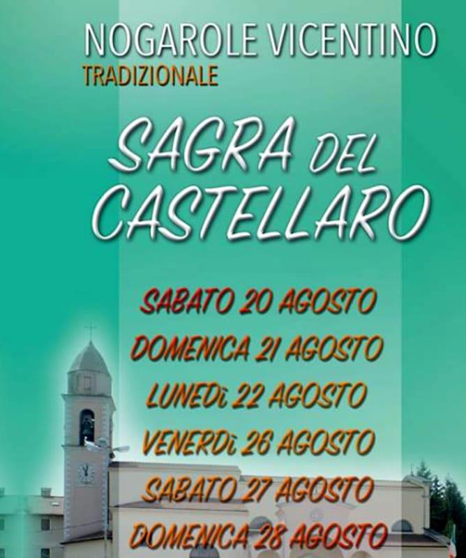 "Locandina ""Sagra del Castellaro"" (foto facebook)"