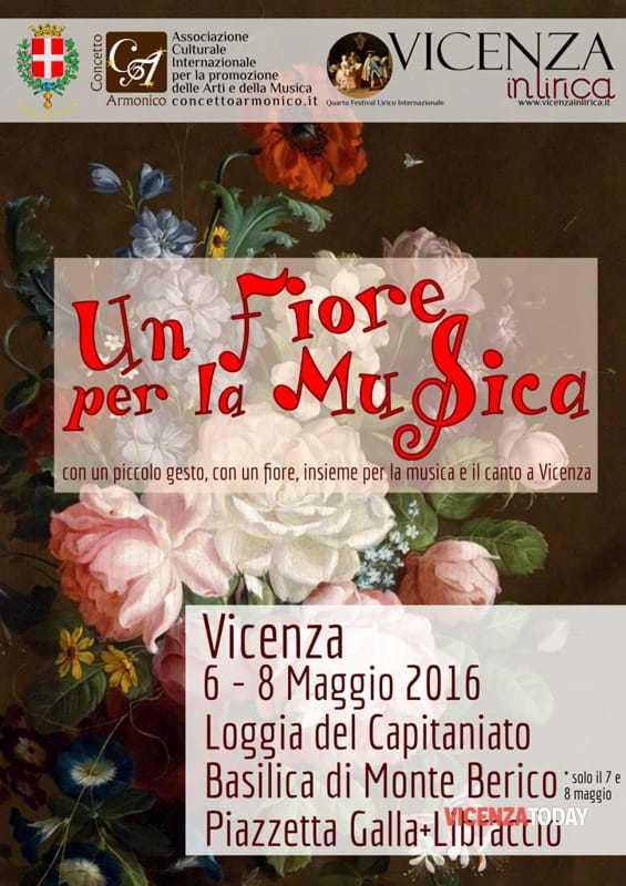 """Locandina """"Un Fiore per la Musica"""""""