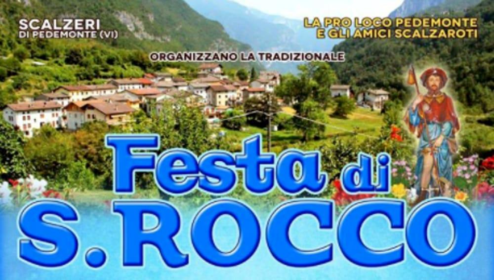 Festa di San Rocco (foto facebook)