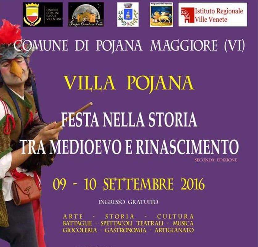 """Locandina """"Festa nella Storia tra Medioevo e Rinascimento"""" (immagini di archivio)"""
