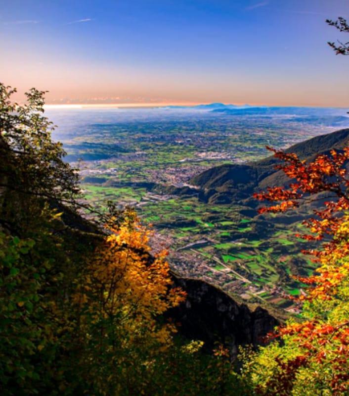 Escursioni Panorama dal Monte Cengio (foto Michael Meggiarin)