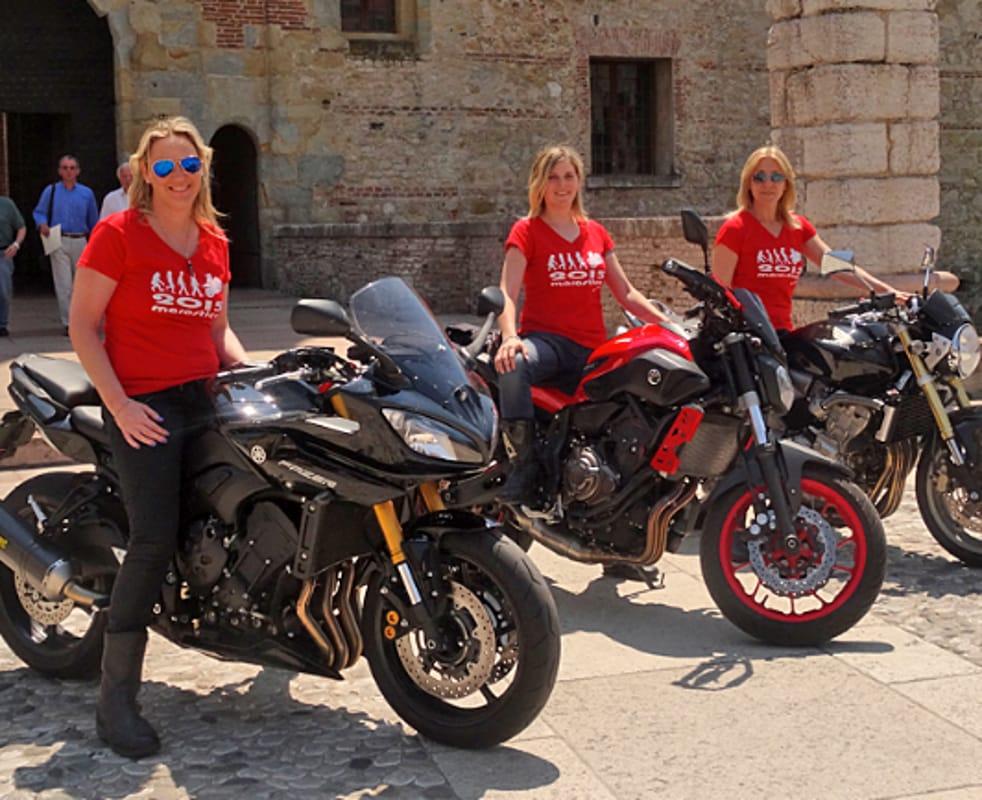 """Le motocicliste al """"Missbiker"""" (immagini di archivio)"""