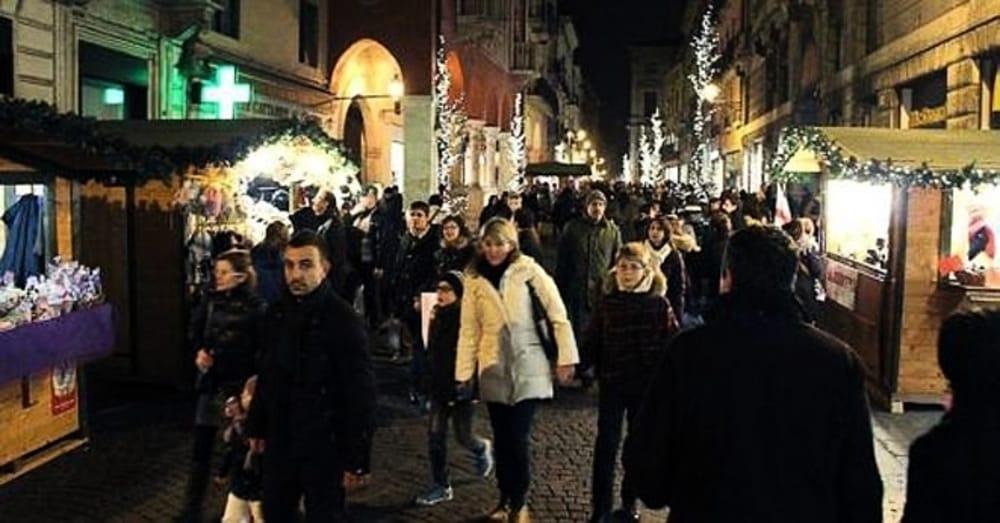 Mercatini a Vicenza (immagini di archivio)