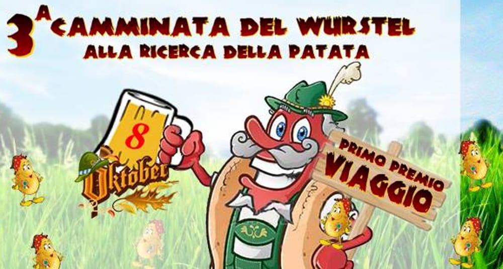 Camminata del Würstel alla Ricerca della Patata ad Arzignano (foto facebook)
