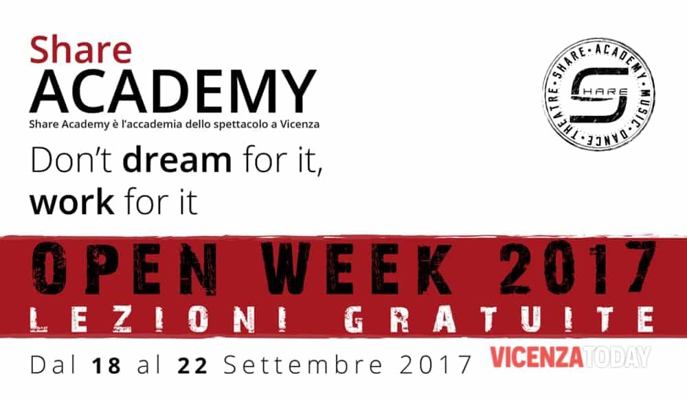 """Share Academy Open Week"" (immagini di archivio)"