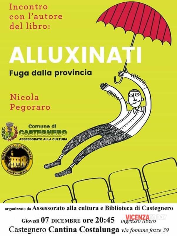 Locandina libro Alluxinati (immagini di archivio)