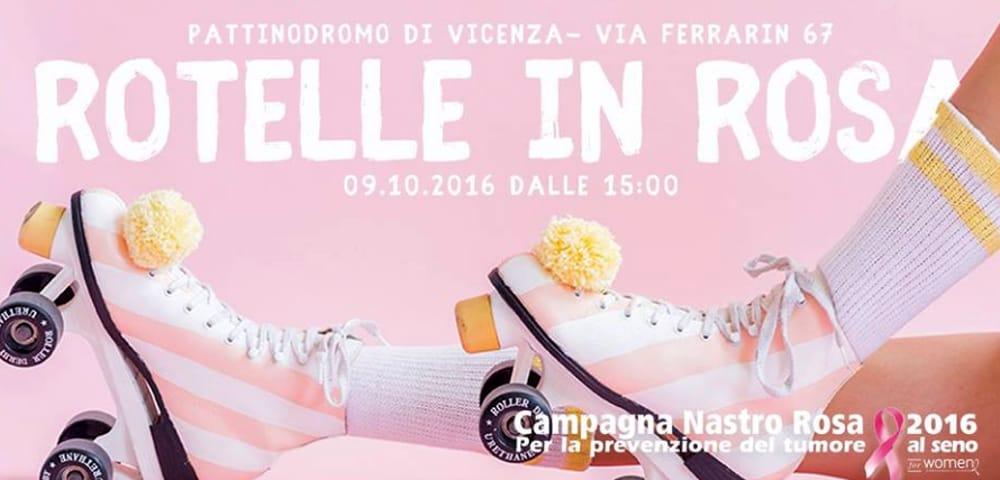 """Locandina """"Rotelle in Rosa"""" (immagini di archivio)"""