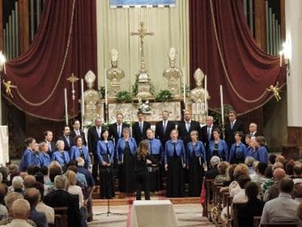 Schola Poliphonica Santuario di Monte Berico (immagini di archivio)