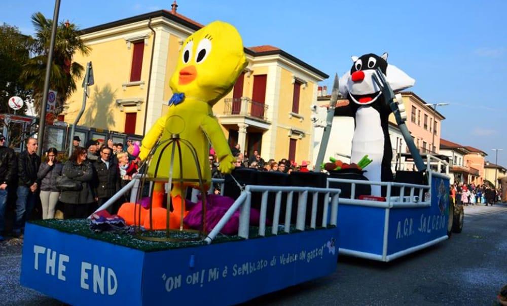 Carnevale di Zugliano (immagini di archivio)