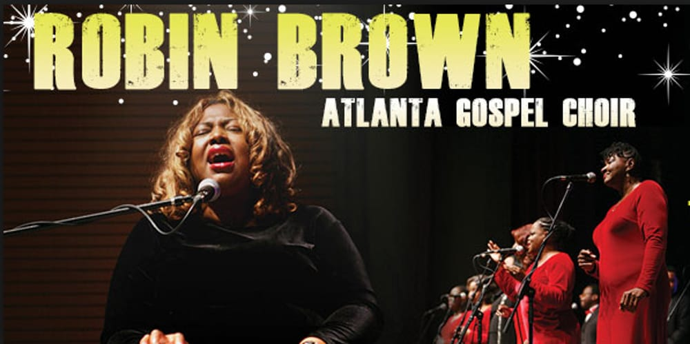Robin Brown e Atlanta Gospel Choir (immagini di archivio)
