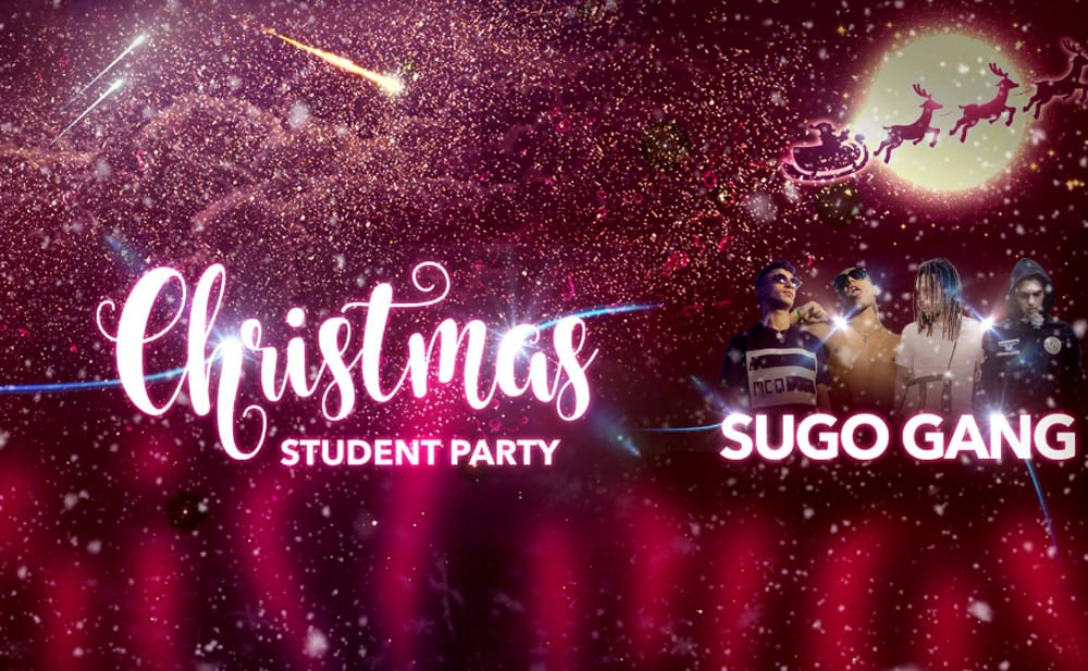 Christmas Student Party: Sugo Gang al LIV Club (immagini facebook)