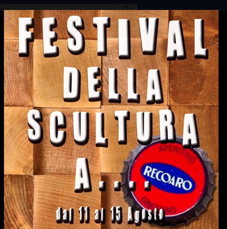 """Locandina """"Festival della scultura in legno"""" (foto facebook)"""