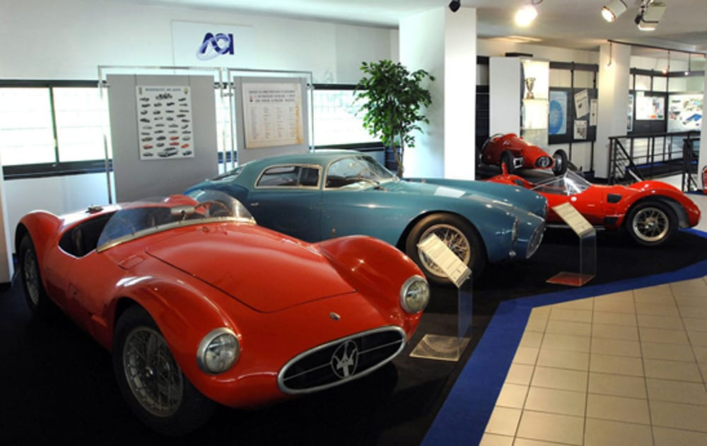 """Museo dell'Automobile """"Bonfanti-Vimar"""" di Romano d'Ezzelino (immagini di archivio)"""