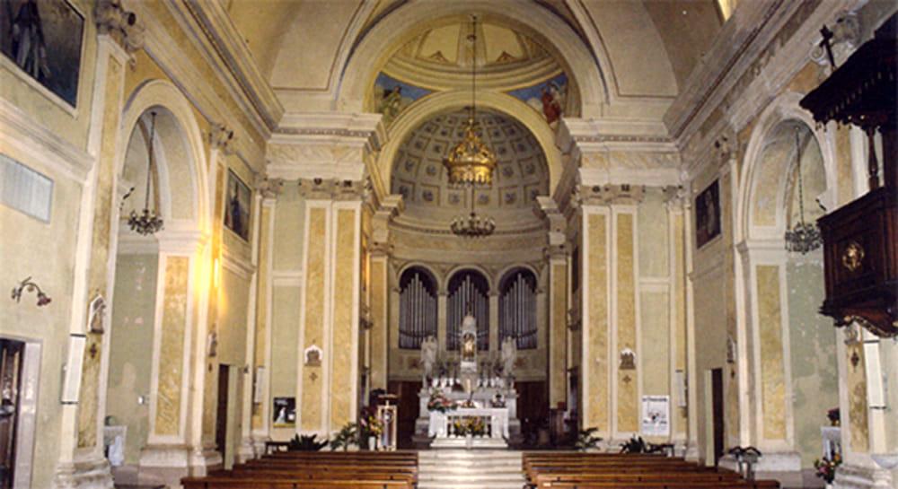 Chiesa dei Santi Rocco e Sebastiano (immagini di archivio)