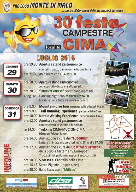 """Locandina """"Festa Campestre"""" (immagini di archivio)"""