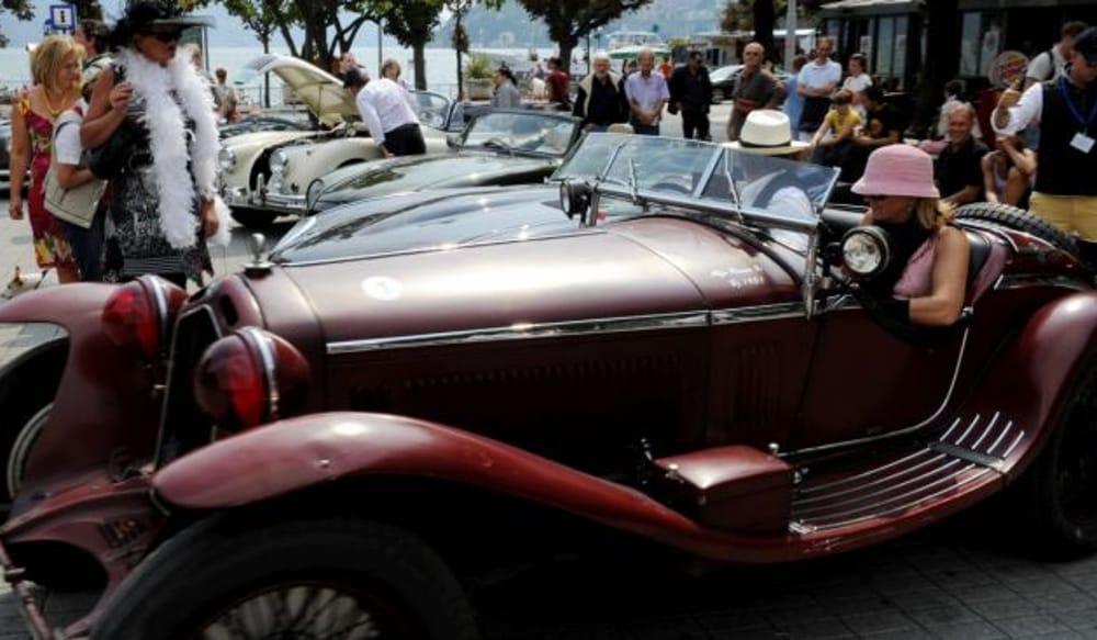 Auto d'epoca (immagini di archivio)