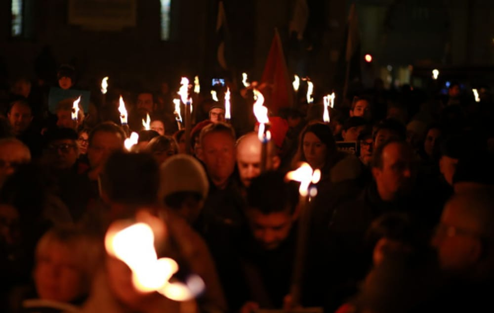 Marcia della Memoria (immagini di archivio)