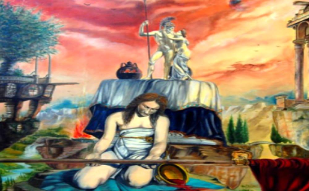 Dipinti di Rocco Grippa (immagini di achivio)